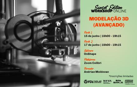 Workshop Modelação 3D Avançado   Online