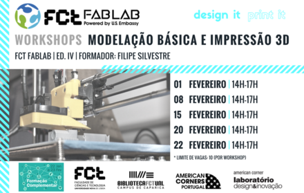 Workshops |Modelação e Impressão 3D