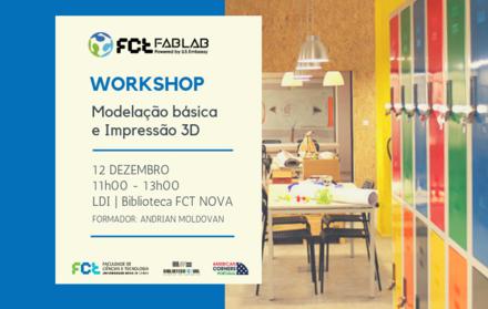 Workshop | Modelação e Impressão 3D