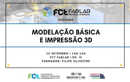 Workshop | Modelação Básica e Impressão 3D