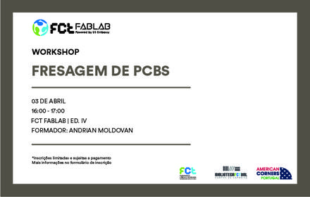 Workshop Fresagem de PCBs