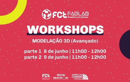Workshop Modelação 3D Avançado | Online