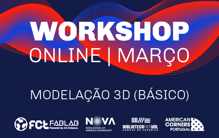 Workshop Modelação 3D (Básico) | Online
