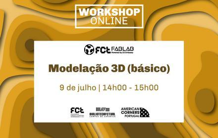 Workshop Modelação 3D Básico | Online