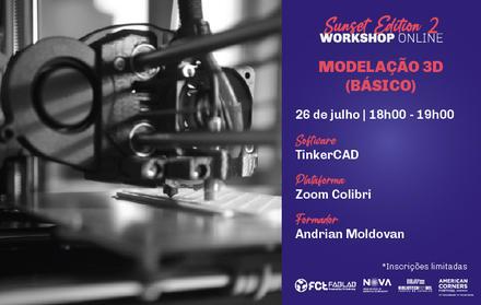 Workshop Modelação 3D Básico   Online