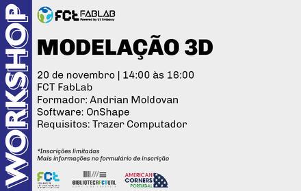 Workshop | Modelação 3D